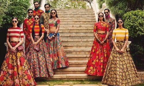 bridesmaid-lehenga-500x300 Latest Bridesmaid Lehenga Designs-25 New Styles To Try In 2019