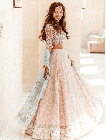 bridesmaid-lehenga Latest Bridesmaid Lehenga Designs-25 New Styles To Try In 2019