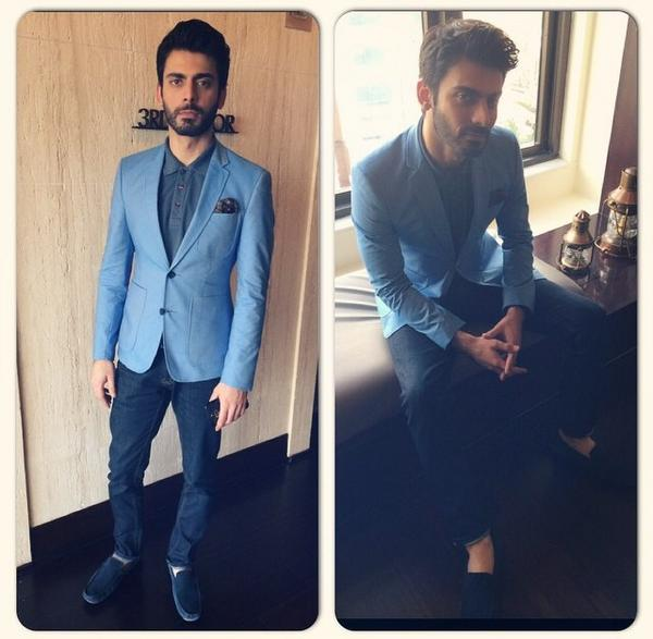fawad-10 Fawad Khan Dressing Styles-27 Best Outfits of Fawad Khan to Copy