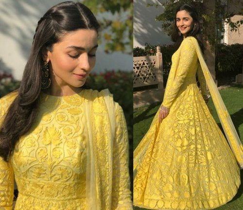 indian-bridesmaid-lehnga-500x432 Latest Bridesmaid Lehenga Designs-25 New Styles To Try In 2019
