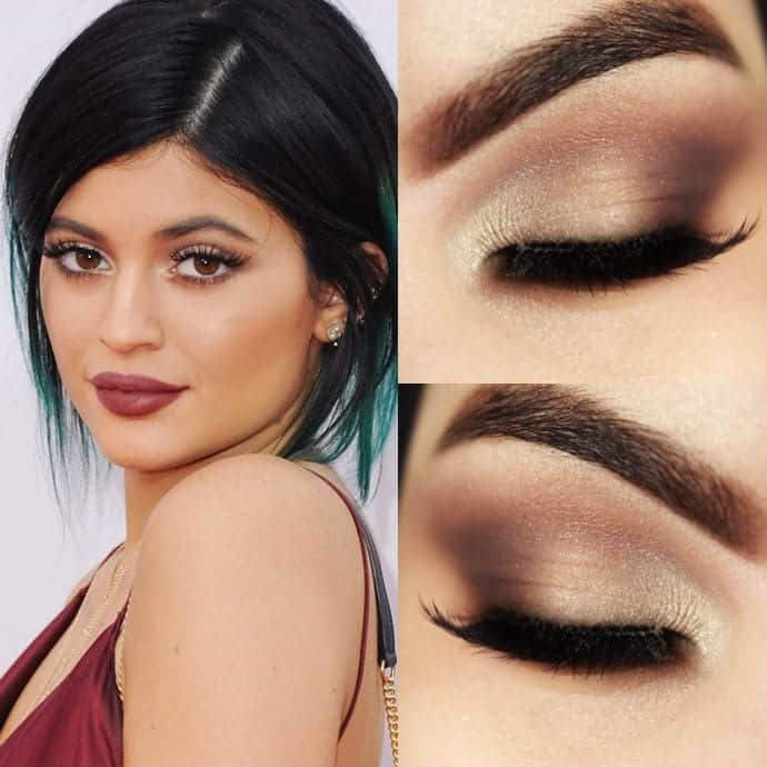 kylie-2 Top 13 Best Makeup Styles From The Most Beautiful Celebrities