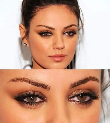 mila-1 Top 13 Best Makeup Styles From The Most Beautiful Celebrities