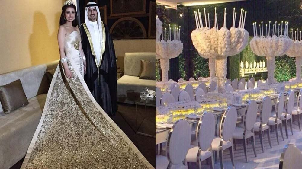 sbah Top 10 Most Expensive Arab Weddings of All The Time