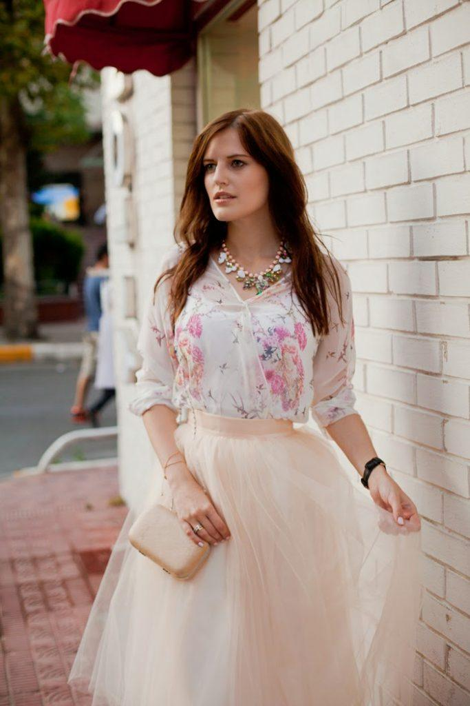 skirts-in-turkey-tulle-skirt-683x1024 Turkish Casual Fashion-15 Best and Trending Casual Styles in Turkey