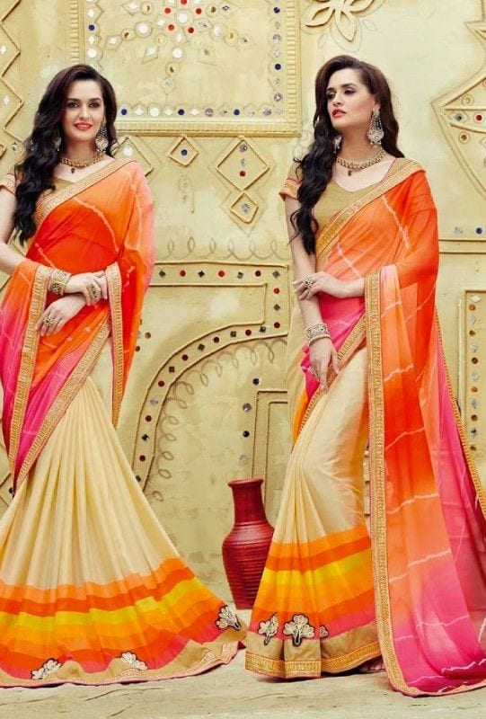 south-asian-saree-designs-10 23 Latest South Indian Wedding Sarees To Try This Year