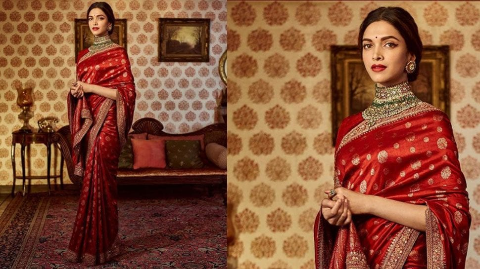 south-asian-saree-designs-3 23 Latest South Indian Wedding Sarees To Try This Year