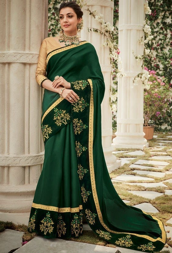 south-asian-saree-designs-4 23 Latest South Indian Wedding Sarees To Try This Year