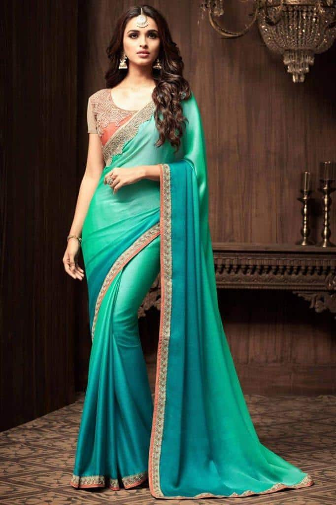 south-asian-saree-designs-5-682x1024 23 Latest South Indian Wedding Sarees To Try This Year