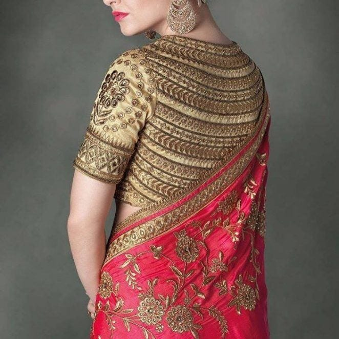 south-asian-saree-designs-7 23 Latest South Indian Wedding Sarees To Try This Year
