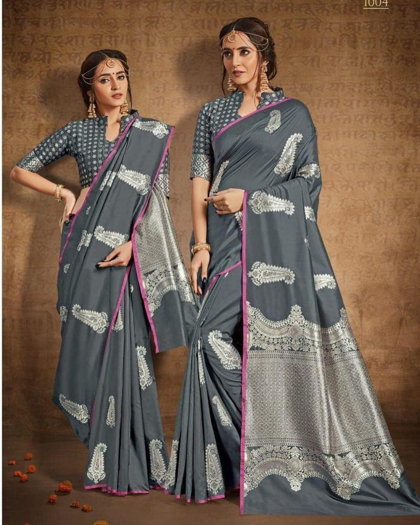 south-asian-saree-designs-8-819x1024 23 Latest South Indian Wedding Sarees To Try This Year