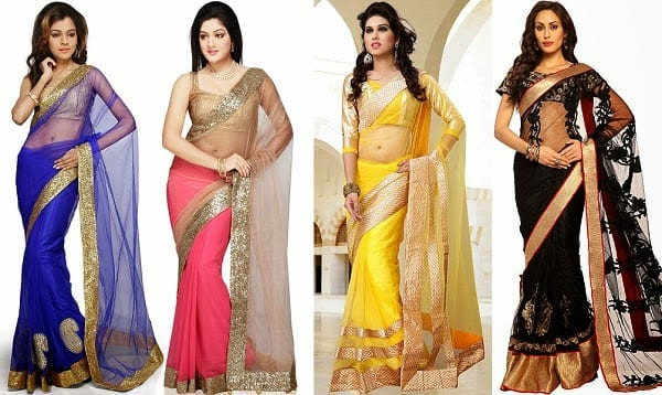 south-asian-saree-designs-9 23 Latest South Indian Wedding Sarees To Try This Year
