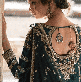 statement-back-lehenga-choli-bridesmaid Latest Bridesmaid Lehenga Designs-25 New Styles To Try In 2019