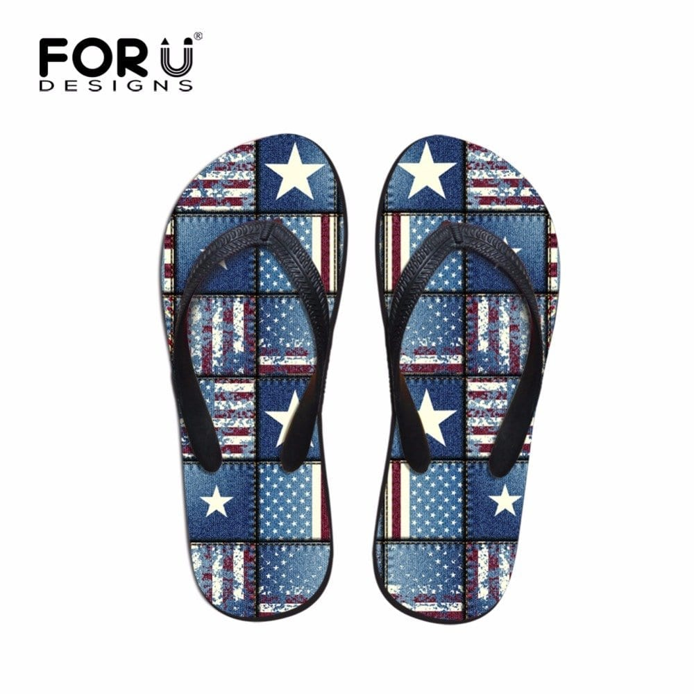 2016-Men-Beach-Flip-Flops-font-b-Brand-b-font-Summer-Flog-Pattern-Shoes-for-Teenage Funky Slippers For Girls-These 30 Coolest Slippers you Must Try