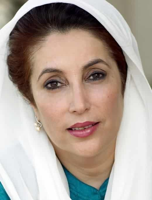 Bhutto_Benazir_1 Beautiful Pakistani Female Politicians-Top 10 Attractive Pakistani Politicians
