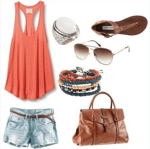 Outfit How to Wear Bandeau Tops-20 Cool Styles to Wear Bandeau Tops