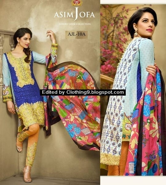 asimjofa Top 10 Pakistani Clothing Brands for Women 2017