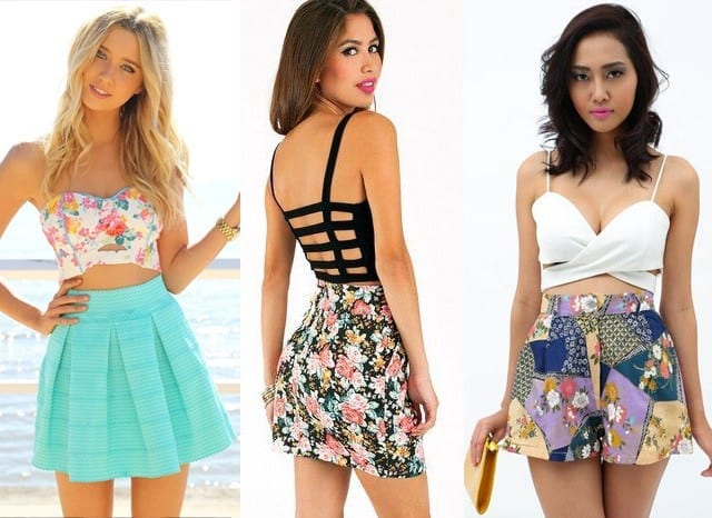 bandeau3 How to Wear Bandeau Tops-20 Cool Styles to Wear Bandeau Tops