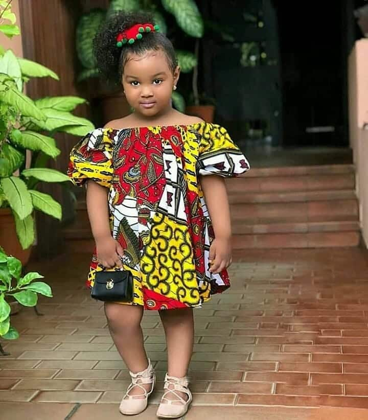 Ankara_stylez1 Ankara Styles for Babies-19 Adorable Ankara Dresses For Kids 2019