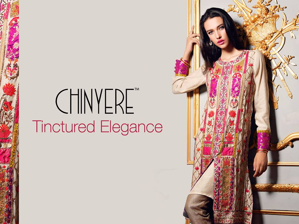 Chinyere-Winter-2016-Collection-Formal-Prints-Kurtis-7 26 Most Expensive Women's Clothing Brands in Pakistan 2019