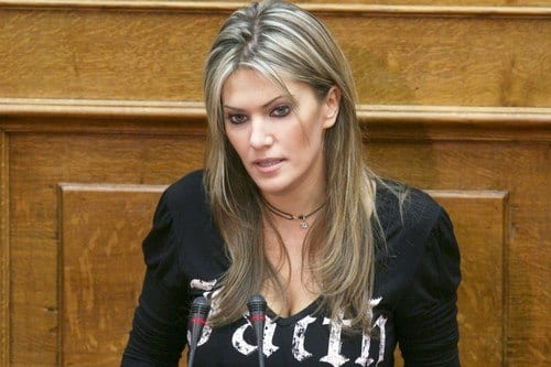 Eva-Kaili-Greece Most Beautiful Politicians-10 Hottest Female Politicians in World