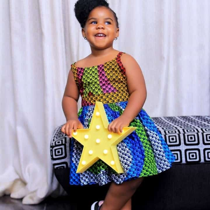 Glambyestel2 Ankara Styles for Babies-19 Adorable Ankara Dresses For Kids 2019