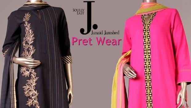 Junaid-Jamshed-Pret-Wear-Collection-2015-for-Girls-300x169 26 Most Expensive Women's Clothing Brands in Pakistan 2019