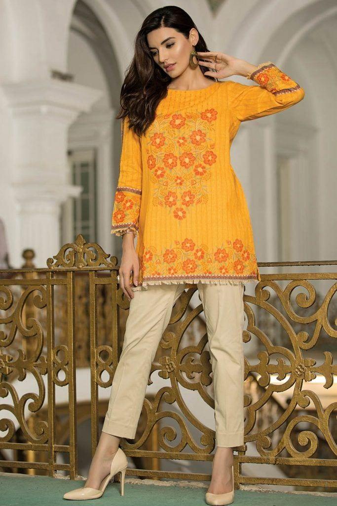 Kyseria-Winds-of-Winter-Kurti-683x1024 Winter Kurtis Designs – 18 Latest Kurti Styles for Women
