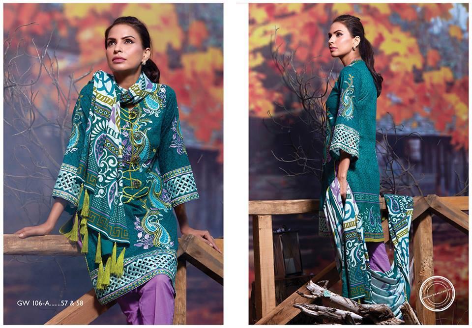 LSM-Gorgeous-Wintery-Kurti Winter Kurtis Designs – 18 Latest Kurti Styles for Women