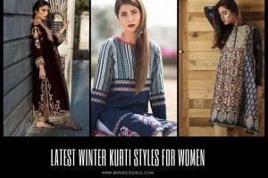 Latest Winter Kurti Styles for Women