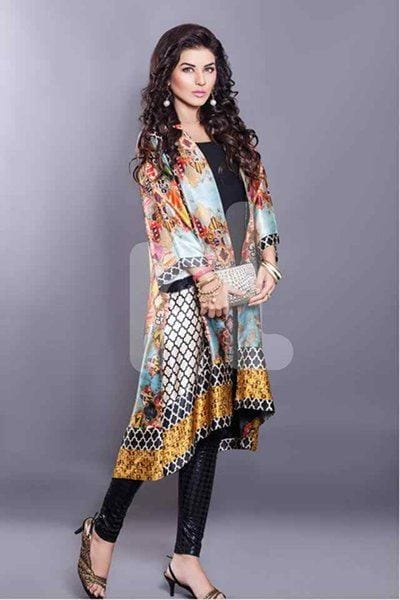 Latest-Women's-Kurtas-2016-Women's-Fashionable-Kurtis-UK-1 Winter Kurtis Designs – 18 Latest Kurti Styles for Women