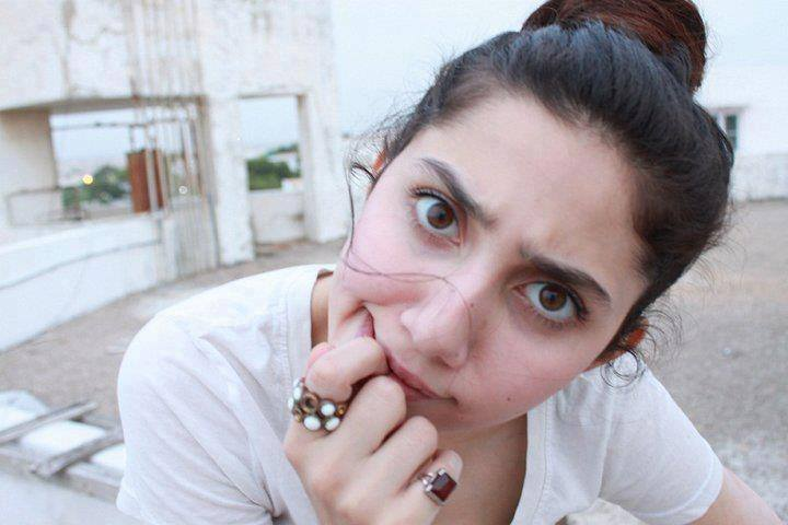 Mahira-Khan-Pakistani-Actresses-Without-Makeup Pakistani Actresses without Makeup-Shocking Photos of Actresses with No Makeup