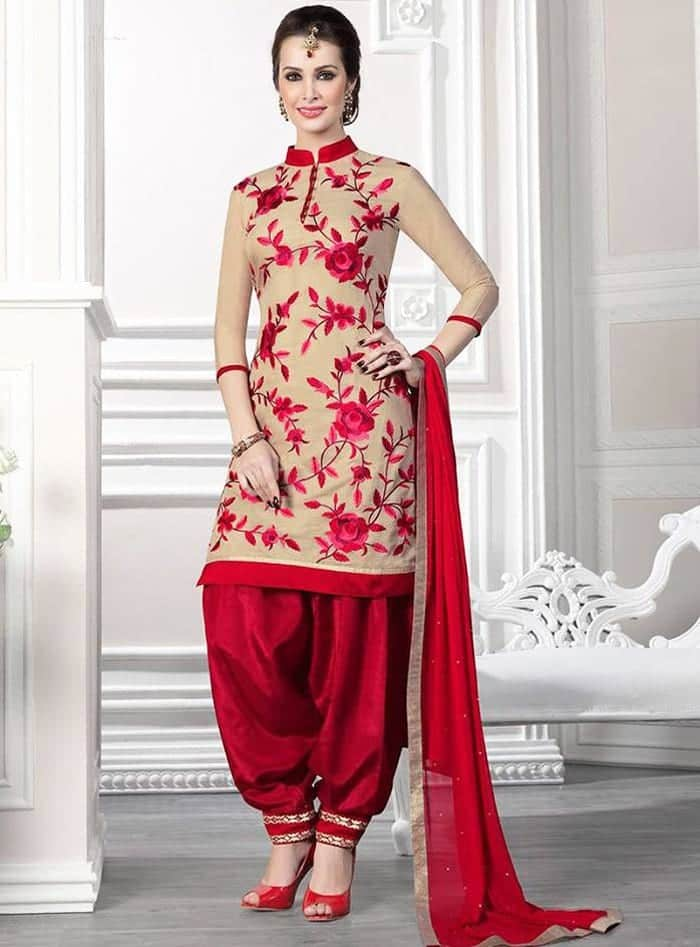 Punjabi-Patiala-Salwar-Kameez-Suits-23 Latest Shalwar Kameez Designs for Girls-15 New Styles to try