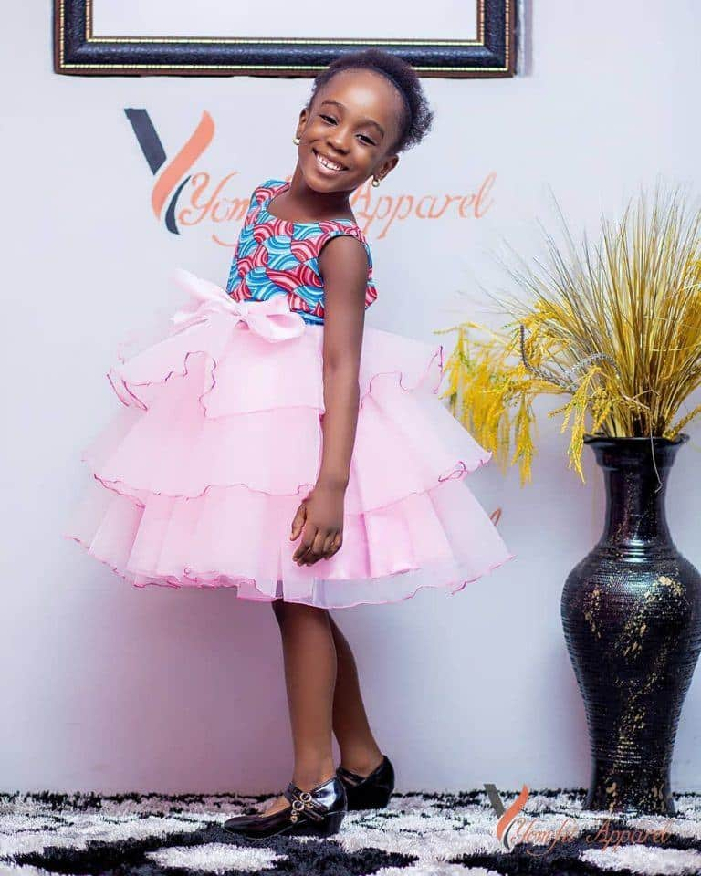 Yomfit1-768x960 Ankara Styles for Babies-19 Adorable Ankara Dresses For Kids 2019
