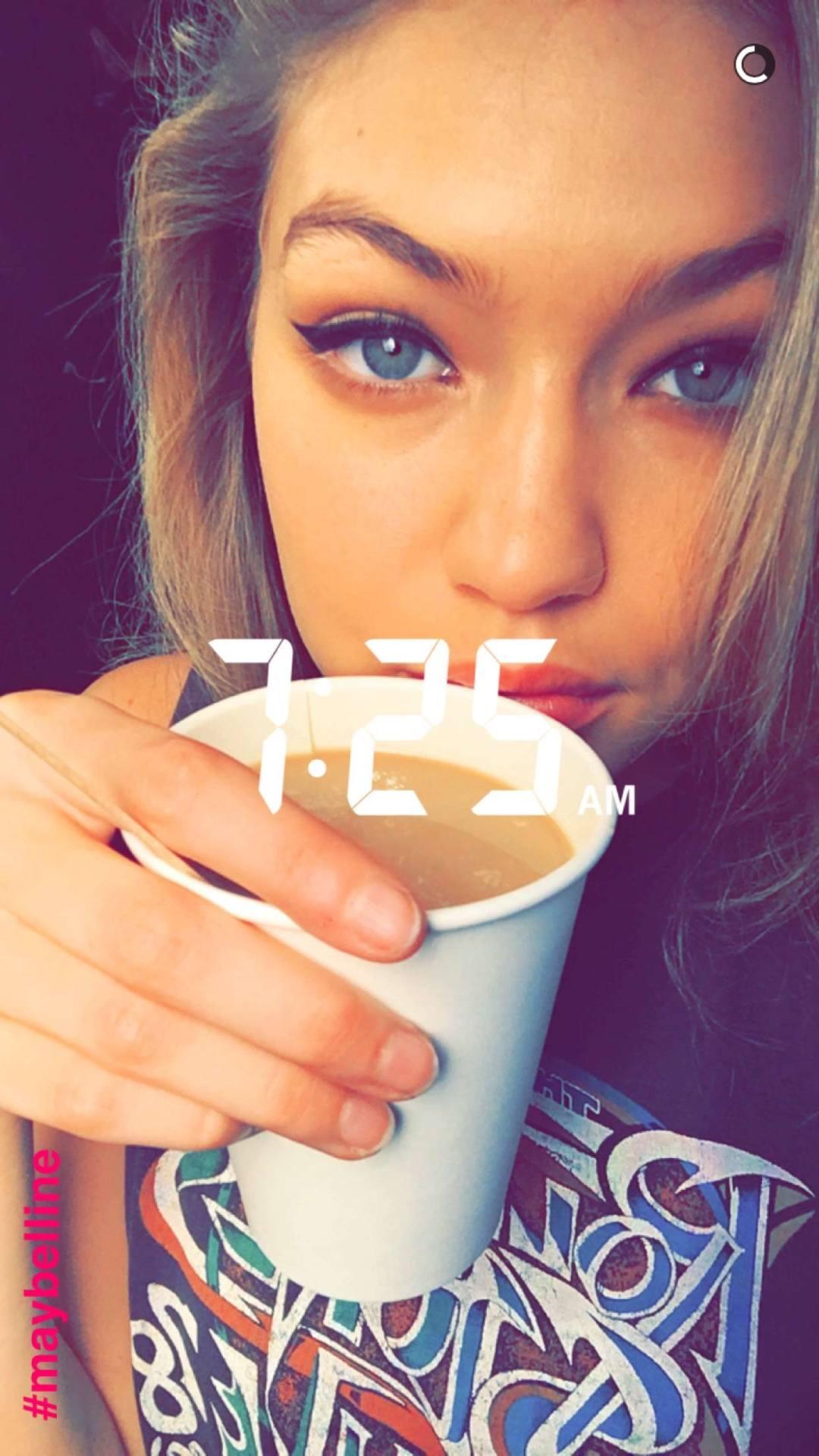 gigi2 Hollywood Celebrity Snapchats-15 Hollywood Snapchat Accounts to Follow