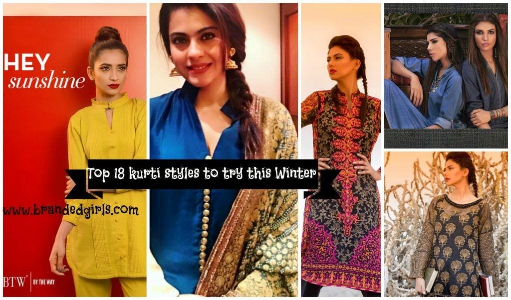how-to-wear-kurtis-in-winters-1024x602 Winter Kurtis Designs – 18 Latest Kurti Styles for Women
