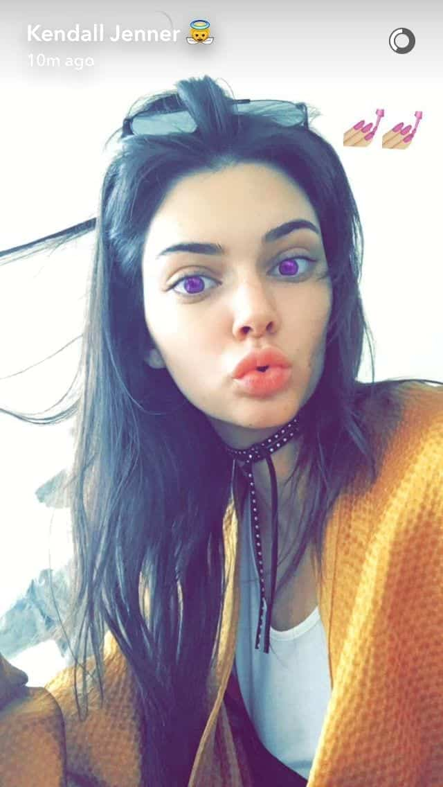 kendall Hollywood Celebrity Snapchats-15 Hollywood Snapchat Accounts to Follow
