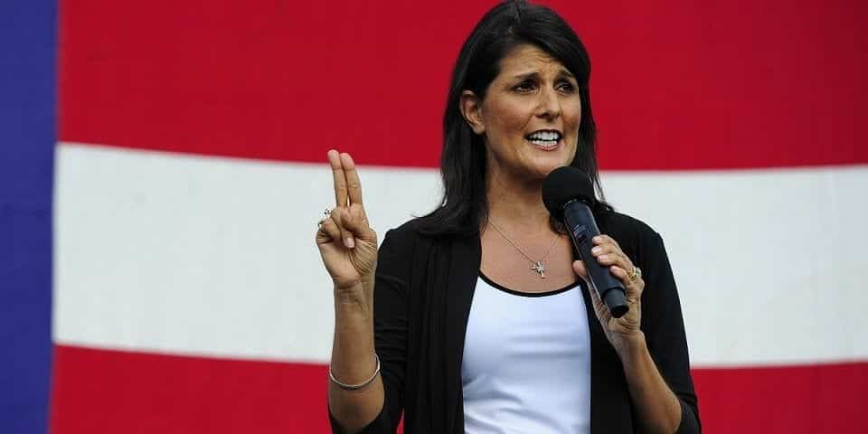 nikki-haley 20 Most Beautiful Indian Politicians of All Time
