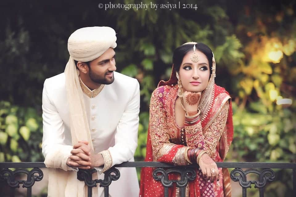 Pakistani Couple Wedding Dress