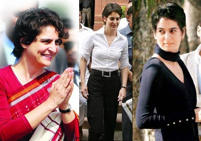 prianka-gandhi 21 Most Beautiful Female Politicians in India
