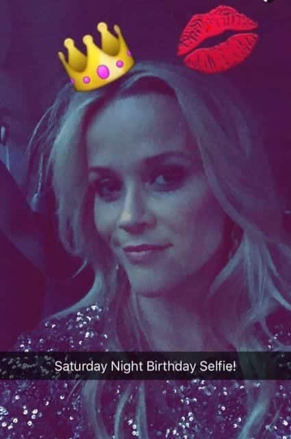 reese Hollywood Celebrity Snapchats-15 Hollywood Snapchat Accounts to Follow