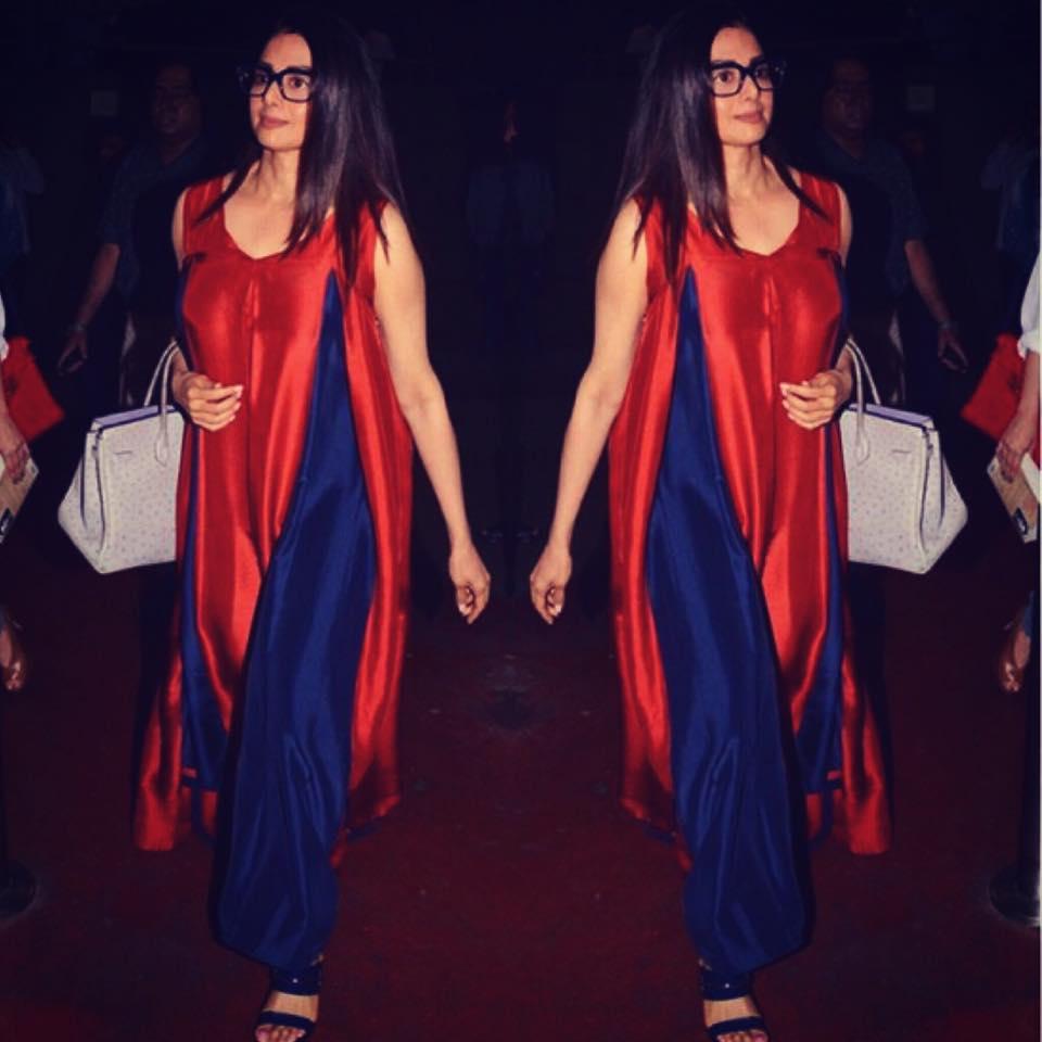 sridevi-wearing-manish-malhotra-kurti Winter Kurtis Designs – 18 Latest Kurti Styles for Women