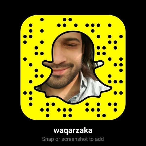 waqar.jpg-large Pakistani Celebrities Snapchat-25 Pakistani Snapchat Accounts to Follow
