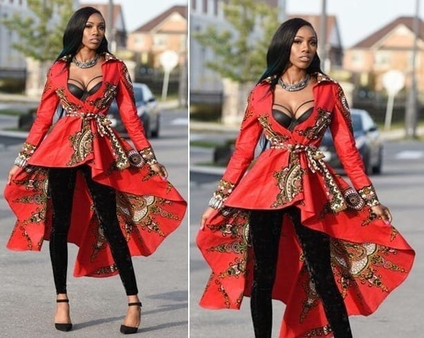 Ankara-Wedding-Guest-Dress Ankara Styles for Wedding-17 Cool Ankara Dresses for Wedding 2019