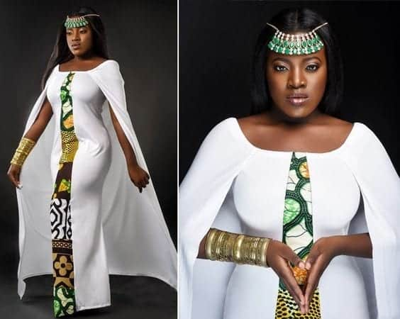 Ankara-White Ankara Styles for Wedding-17 Cool Ankara Dresses for Wedding 2019