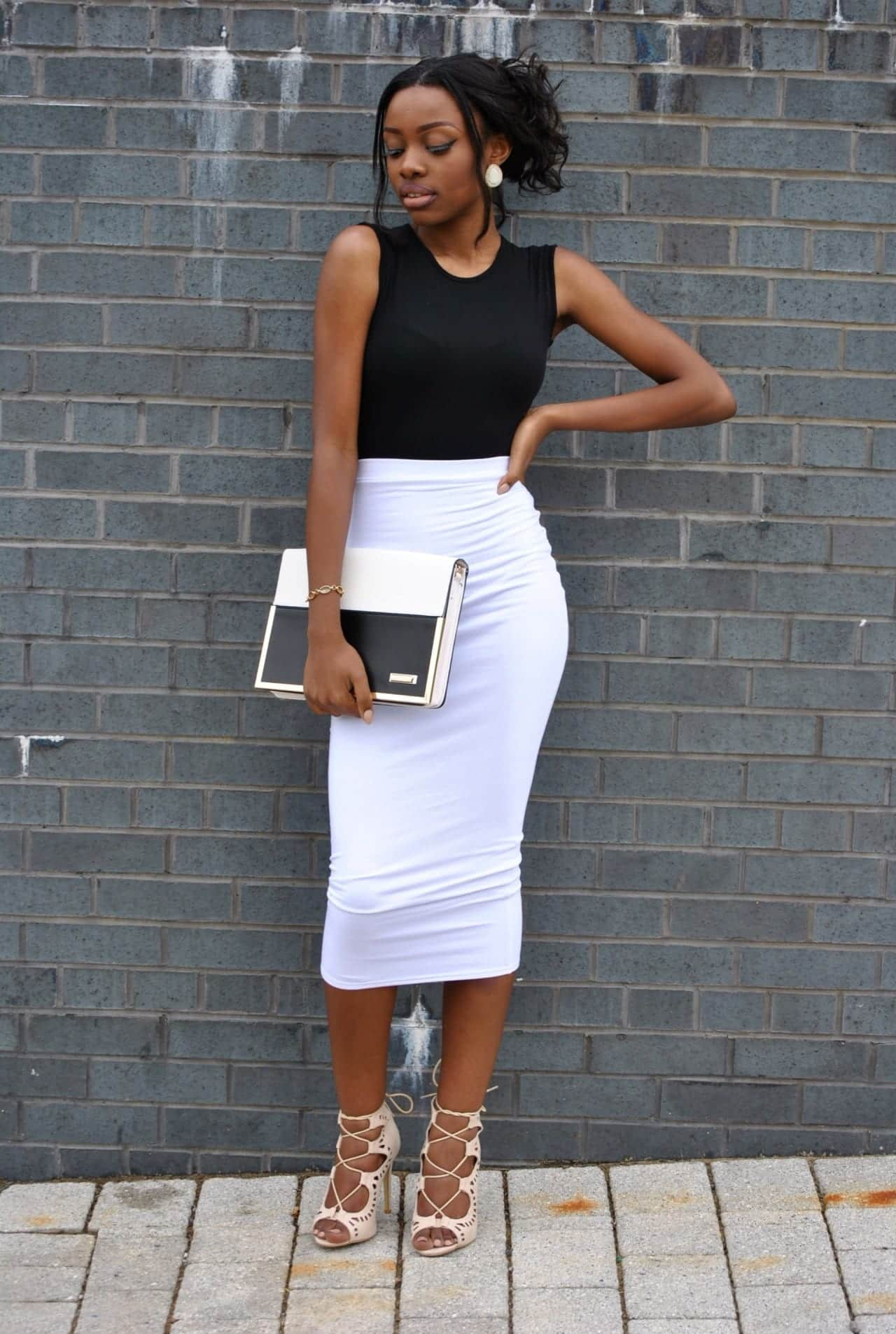 Best-Professional-Footwear Work Outfits for African Women-25 Professional Attires