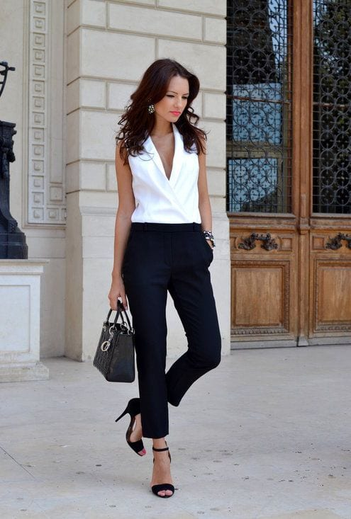 Formal-Pants-for-Work Work Outfits for African Women-25 Professional Attires