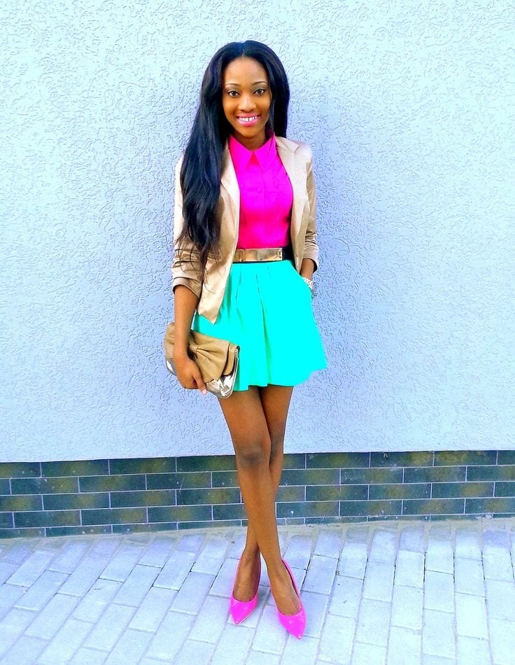 Formal-Wear-for-Induction-Day Work Outfits for African Women-25 Professional Attires