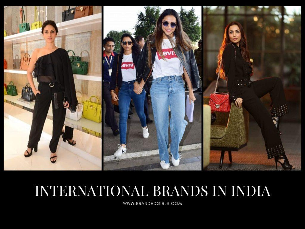 International Brands in IndiaList of Foreign Brands in India