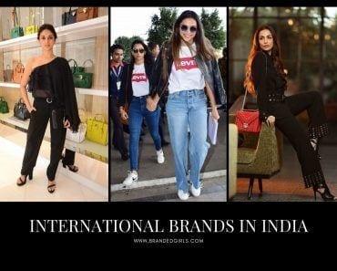 Best International Brands in India