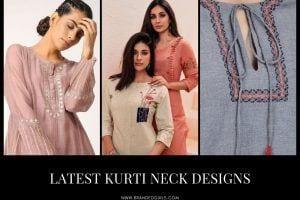 Kurti Neck Designs–23 Latest Neck Styles for Kurtis In 2021